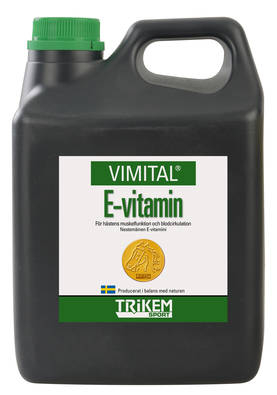Trikem Vimital E-vitamiiniliuos 1000ml - Vitamiinit - 179400 - 1