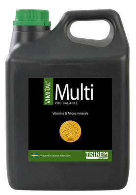 Trikem Vimital Multi Pro Balance 1000ml - Vitamiinit - 178200 - 1