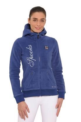 Spooks Lesley Fleecetakki sininen - Hupparit 65312b283d